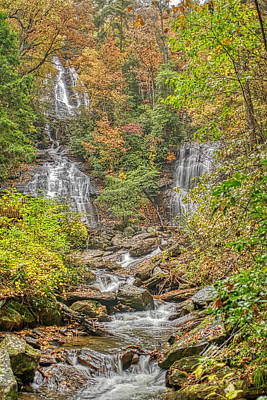Photograph - Anna Ruby Falls Vertical by Meta Gatschenberger