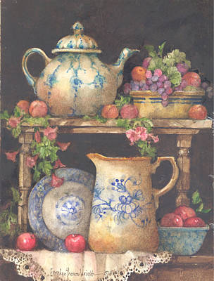 Wall Art - Painting - Anne's Collection by Carolyn Shores Wright