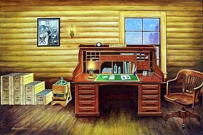 Painting - Another Day In The Books by Randy Welborn