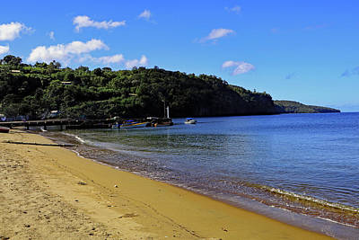 Photograph - Anse La Raye Beach by Tony Murtagh