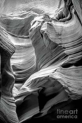 Photograph - Antelope Canyon Waves by Ed Taylor