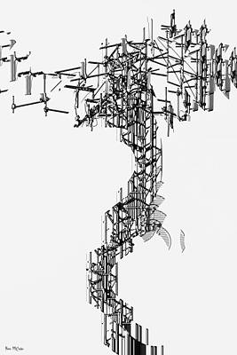 Digital Art - Antenna 2 by Pennie McCracken