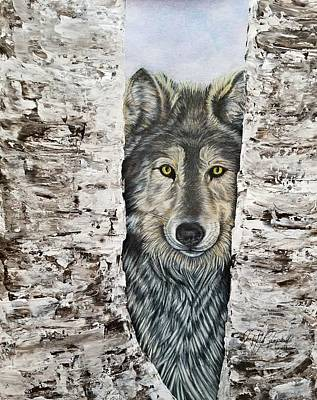 Anticipation - Timber Wolf Original