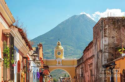 Landmarks Royalty Free Images - Antigua Guatemala Royalty-Free Image by Tim Hester