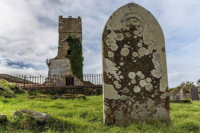 Photograph - Antigua Iglesia Y Cementerio by John McGraw