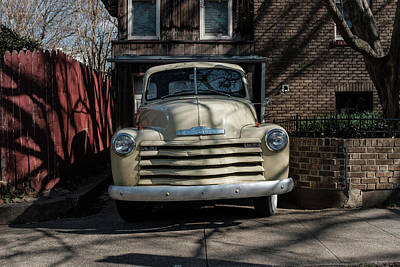 Photograph - Antique Car Parked In Dc by Doug Ash