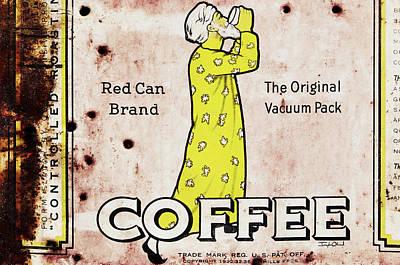 Antique Coffee Can Original