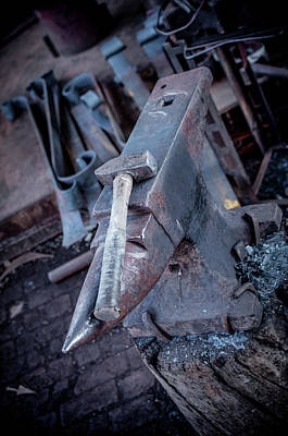 Photograph - Anvil Hammer by Dan Urban