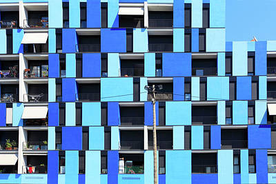 Photograph - Apartments by Digitalimagination