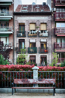 Photograph - Apartments In Madrid by Eduardo Jose Accorinti