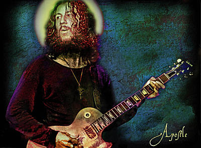 Musicians Mixed Media Royalty Free Images - Apostle Blues Royalty-Free Image by Mal Bray