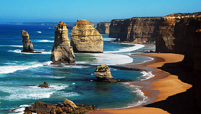 Photograph - Apostles On Great Ocean Road, Melbourne by Tristan Brown