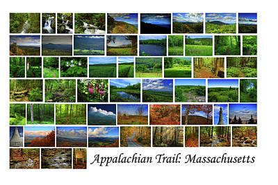 Art Print featuring the photograph Appalachian Trail Massachusetts by Raymond Salani III
