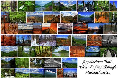 Art Print featuring the photograph Appalachian Trail West Virginia Through Massachusetts by Raymond Salani III