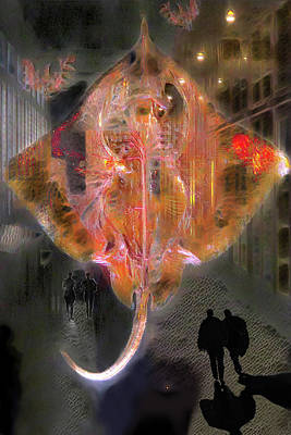 Digital Art - Apparition 1 by Lisa Yount