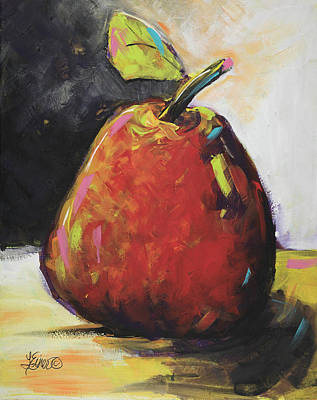 Painting - Apple A Day by Terri Einer