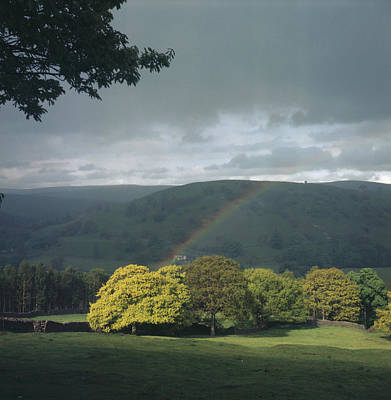 Photograph - Appletreewick Rainbow by Kenneth Rittener