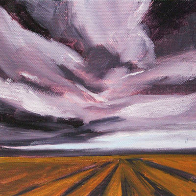 Painting - Approaching Storm by Nancy Merkle