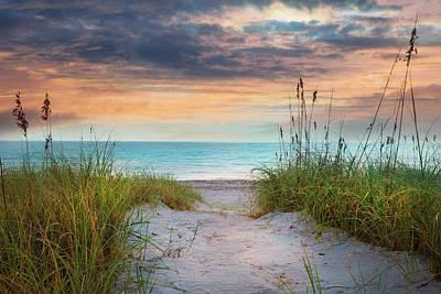 Photograph - Aqua Seas At The Dunes by Debra and Dave Vanderlaan