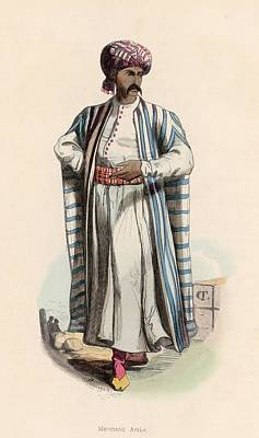 Arab Merchant Art Print by Hulton Archive