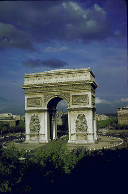 Photograph - Arc De Triomphe In Place De Letoile by Eliot Elisofon