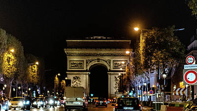Photograph - Arc De Triomphe by Randy Scherkenbach