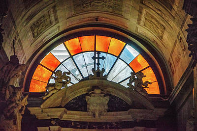 Photograph - Arch Glass by Joseph Yarbrough