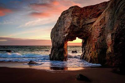 Photograph - Arche De Port Blanc by Peter OReilly
