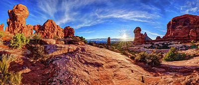 Photograph - Arches Energy by ABeautifulSky Photography by Bill Caldwell