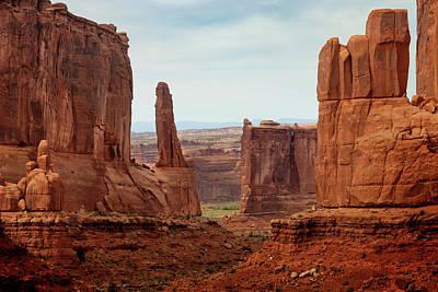 Owls - Arches National Park 1 by Ricky Barnard