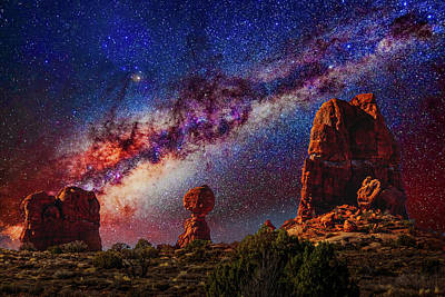 Studio Grafika Patterns Rights Managed Images - Arches National Park 206 Royalty-Free Image by Mike Penney