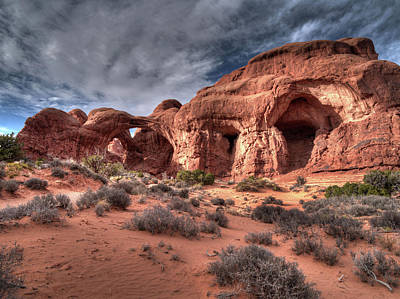 Impressionist Landscapes - Arches National Park by Mark Langford