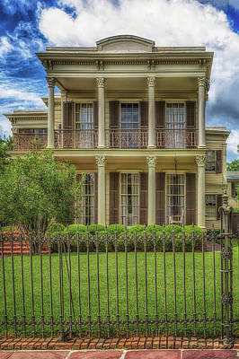 Photograph - Archie Manning House  by Susan Rissi Tregoning