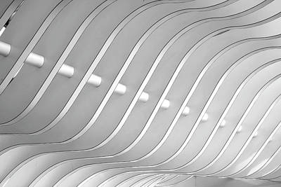 Photograph - Architectural Abstract 3 - Interior Of by Lubilub
