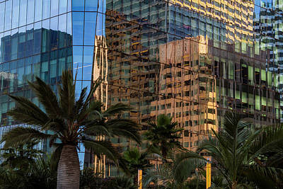 Photograph - Architectural Reflections by Bonnie Follett