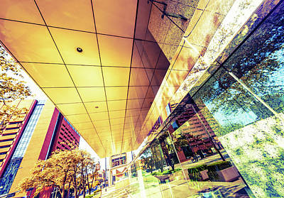 Financial District Photograph - Architecture, Financial District by Moreiso