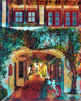 Photograph - Archway To Paradise Caribbean Art by Debra and Dave Vanderlaan