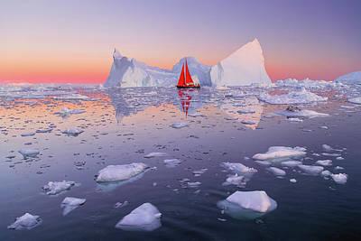 Photograph - Arctic Mirage by Michael Blanchette