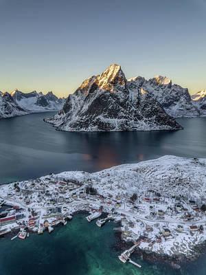 Photograph - Arctic Sunset by Nedjat Nuhi