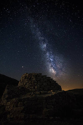 Photograph - Ardasai Under The Stars by Daniele Fanni