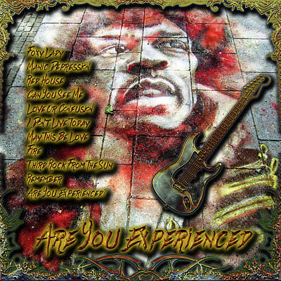Digital Art - Are You Experienced  by Michael Damiani