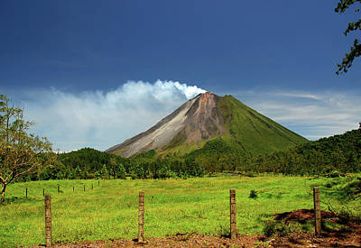 Arenal Photograph - Arenal Volcano - Costa Rica by Titoslack