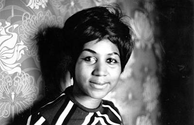 Photograph - Aretha Franklin by Express Newspapers