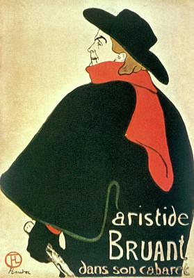 Lego Art - Aristide Bruant Dans Son Cabaret  -  1893 - San Diego Museum of Art by Henri de Toulouse-Lautrec