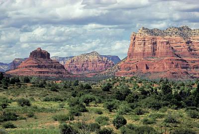 Oak Creek Canyon Wall Art - Photograph - Arizona, Oak Creek Canyon by Education Images/uig
