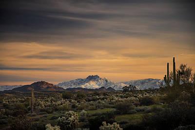 Arizona Sunrise In Color Original