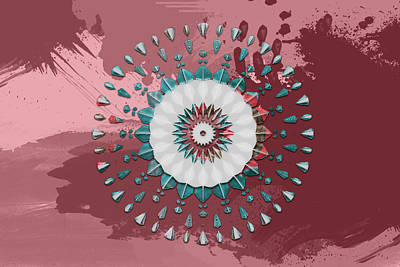 Digital Art - Arizona Mandala Time by Carlos Diaz