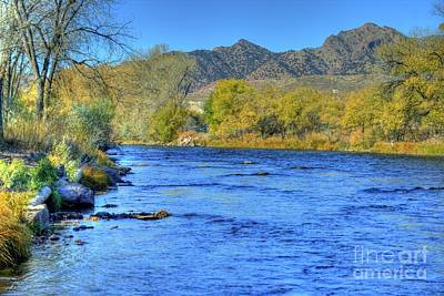 Photograph - Arkansas River by Tony Baca