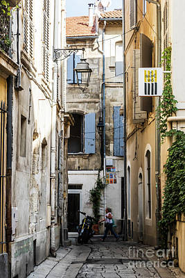 Photograph - Arles Alley by Thomas Marchessault