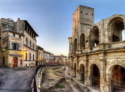 Photograph - Arles Streets And Arena by Weston Westmoreland